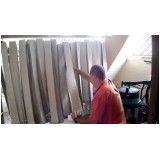 Lavagem de persianas verticais no Jabaquara